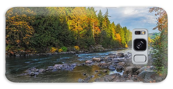 Autumn Morning Light On The Snoqualmie Galaxy Case