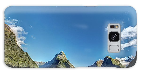 Galaxy Case featuring the photograph Autumn Morning Milford Sound by Gary Eason