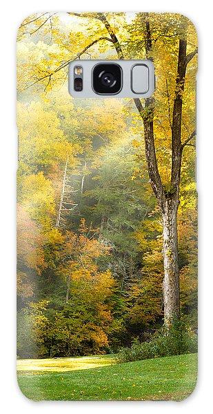 Autumn Morning Rays Galaxy Case by Brian Caldwell