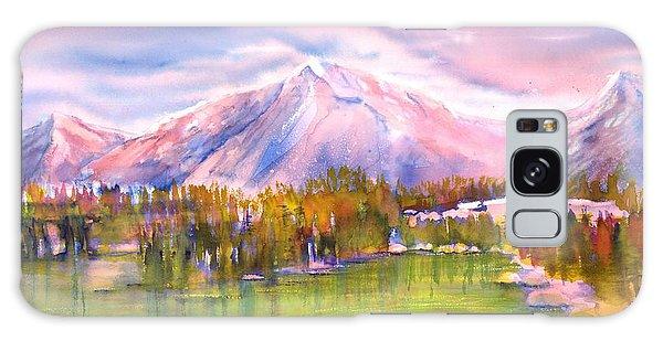 Autumn Mountain Scenery Galaxy Case
