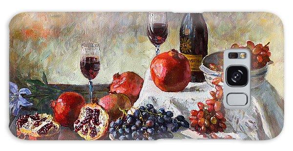 Grape Galaxy Case - Autumn N' A Flower by Ylli Haruni
