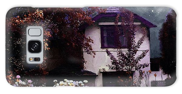Autumn Night In The Country Galaxy Case by RC deWinter