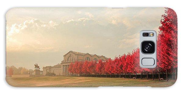 Autumn On Art Hill Galaxy Case