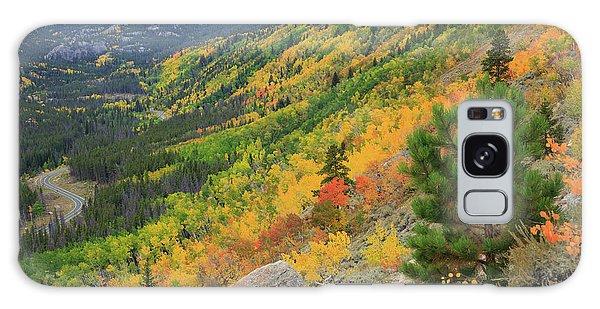 Autumn On Bierstadt Trail Galaxy Case