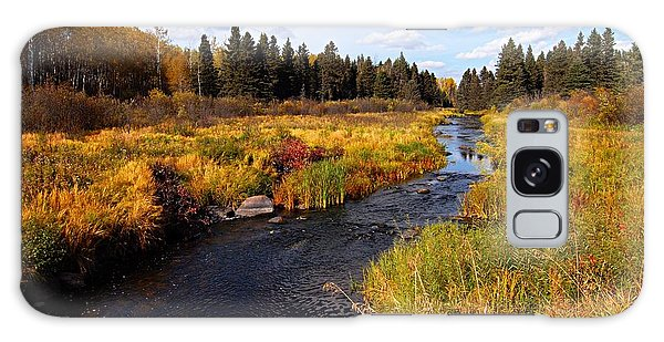 Autumn On Jackfish Creek Galaxy Case