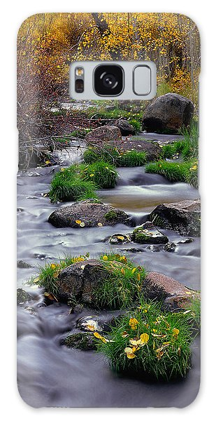 Autumn On Mill Creek Galaxy Case