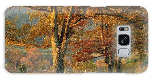 Autumn On Sparks Lane Galaxy Case