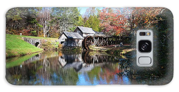 Autumn On The Blue Ridge Parkway At Mabry Mill Galaxy Case
