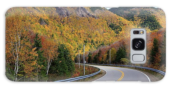 Autumn On The Cabot Trail, Cape Breton, Canada Galaxy Case