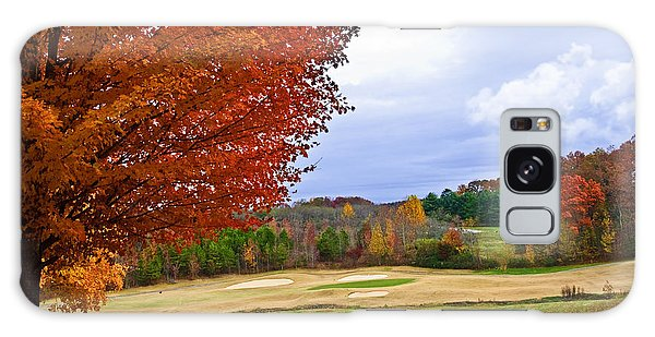 Autumn On The Golf Course Galaxy Case