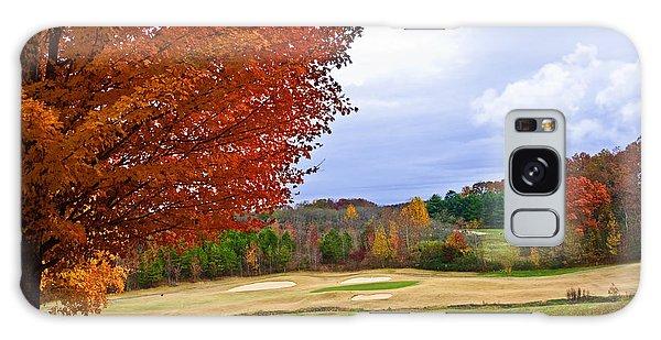 Autumn On The Golf Course Galaxy Case