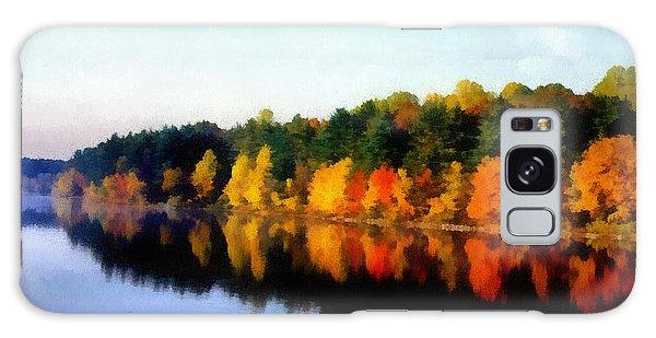 Autumn On The Lake Galaxy Case by Joseph Frank Baraba