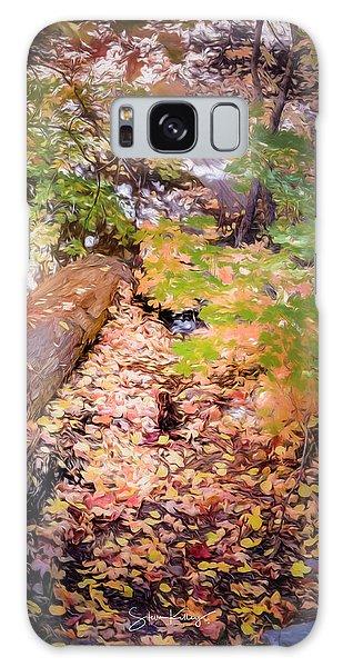 Autumn On The Mountain Galaxy Case