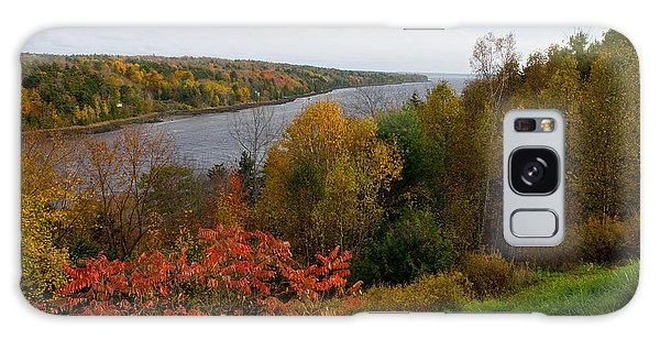 Autumn On The Penobscot Galaxy Case by Brent L Ander