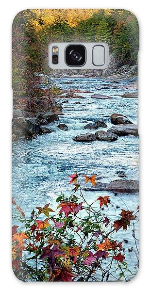 Autumn On Wilson Creek Galaxy Case
