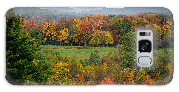Galaxy Case featuring the photograph Autumn On Winslow Hill by Cindy Lark Hartman