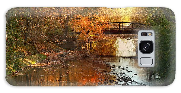 Autumn Over Furnace Run Galaxy Case