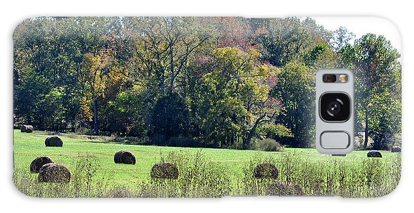 Autumn Pastures Galaxy Case by Jan Amiss Photography