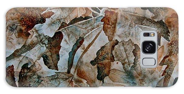 Autumn Patterns Galaxy Case by Carolyn Rosenberger
