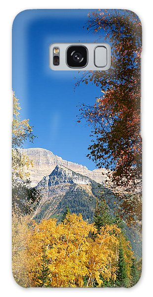Autumn Peaks Galaxy Case by Lawrence Boothby