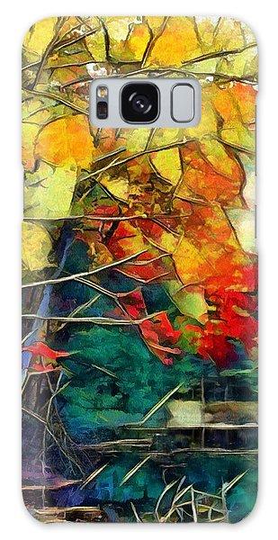 Galaxy Case featuring the digital art Autumn by Pennie McCracken
