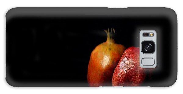 Autumn Pomegranate Galaxy Case