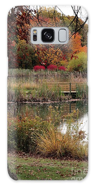 Autumn Pond In Maryland Galaxy Case