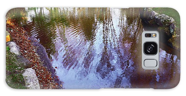 Autumn Reflection Pond Galaxy Case