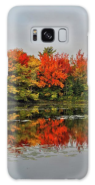 Autumn Portrait Galaxy Case by Kathleen Sartoris