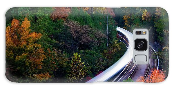 Autumn Rails Galaxy Case
