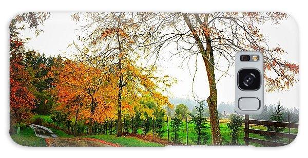 Autumn Rains Galaxy Case