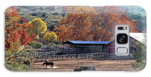 Autumn Ranch Galaxy Case