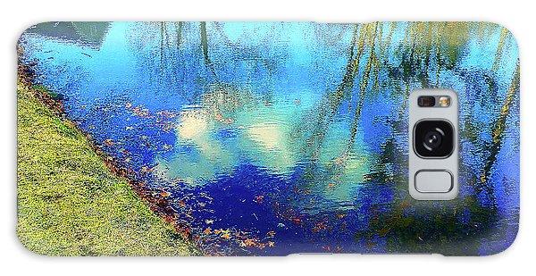 Autumn Reflection Pond Galaxy Case