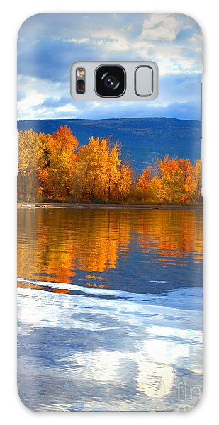 Autumn Reflections At Sunoka Galaxy Case