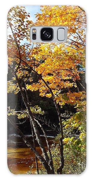 Autumn River Galaxy Case