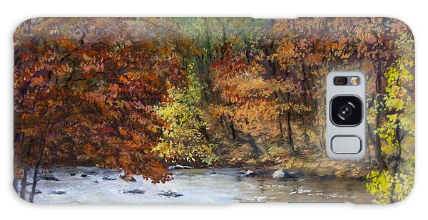 Autumn River Galaxy Case by Jack Skinner