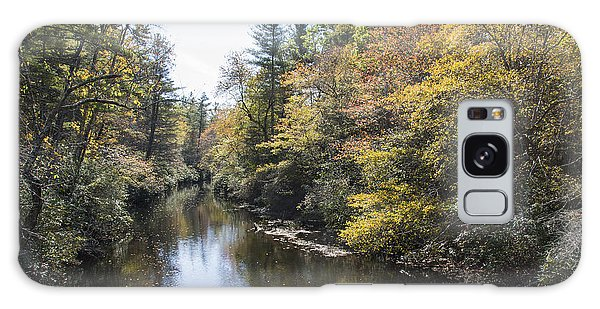 Autumn River Galaxy Case by Ricky Dean