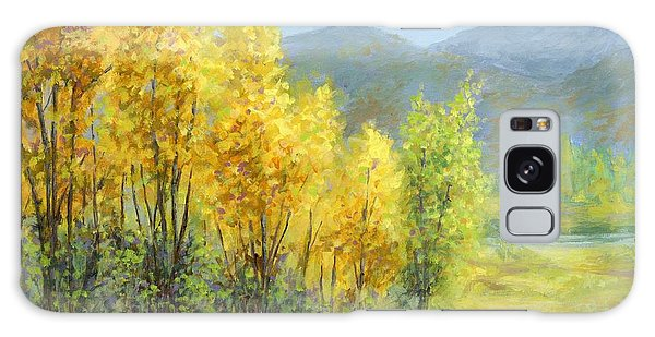Autumn River Valley Galaxy Case