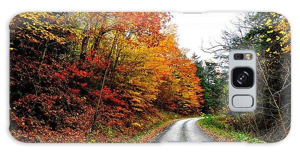 Wellsboro Galaxy Case - Autumn  Road by Krystal Billett
