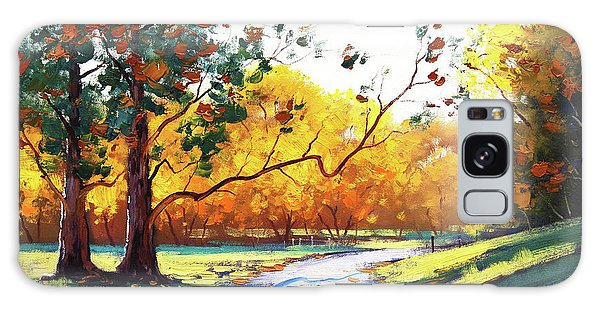 Realistic Galaxy Case - Autumn Road Mt Wilson by Graham Gercken