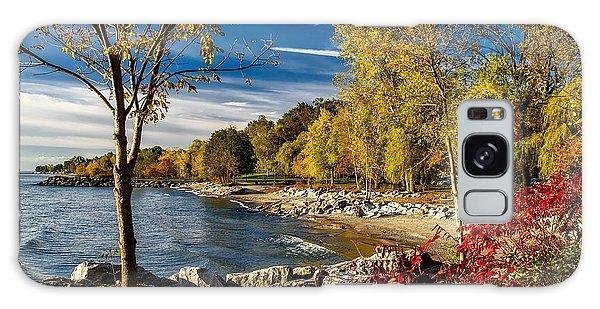 Autumn Scene Lake Ontario Canada Galaxy Case