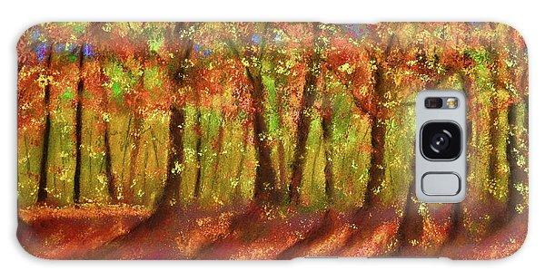 Autumn Shadows Galaxy Case