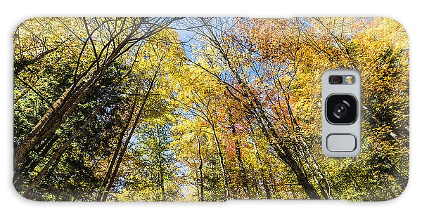 Galaxy Case featuring the photograph Autumn Skies by Anthony Baatz