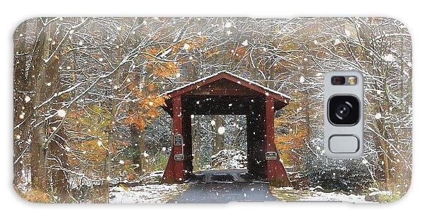 Autumn Snow Galaxy Case