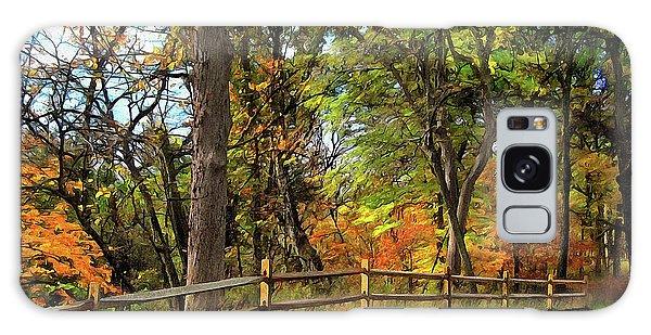 Autumn Song Galaxy Case by Cedric Hampton