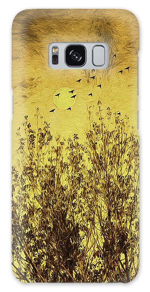 Autumn Song Galaxy Case by Diane Schuster