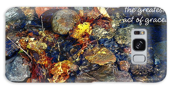 Autumn Splash Grace Galaxy Case by Diane E Berry