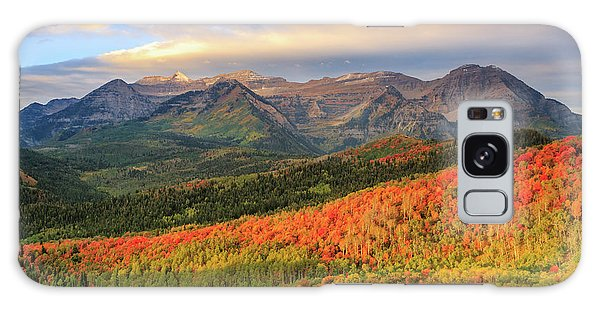 Autumn Splendor In The Wasatch Back. Galaxy Case