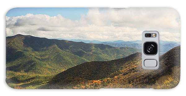 Autumn Storm Clouds Blue Ridge Parkway Galaxy Case