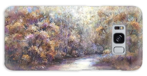 Autumn Stream Galaxy Case by Bonnie Goedecke